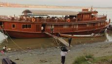 Our boat -- Amara II
