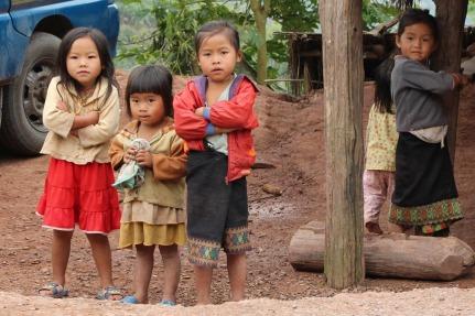 Children in Khamou Village