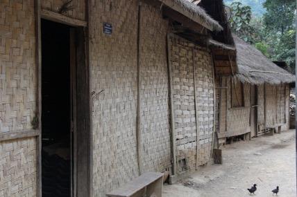 Khamou Village -- note woven walls