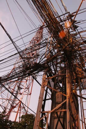Wires Vientiane