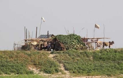 Village home.