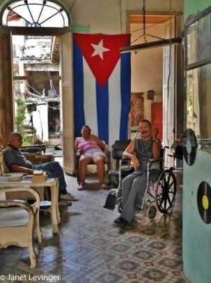 Havana in an antique store