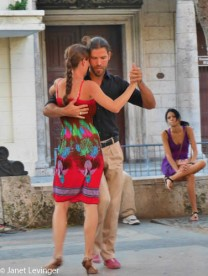 Havana El Prado -- some musicians were playing and several couples were dancing