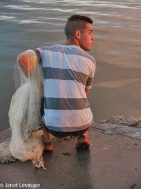 Cienfuegos -- fisherman