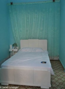 My room in one of the Casas