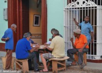 Trinidad domino players