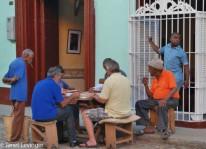 Trinidad domino players